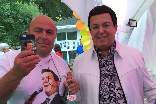Михаил Хубутия и Иосиф Кобзон