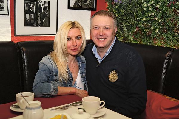 Татьяна Овсиенко с избранником Сашей