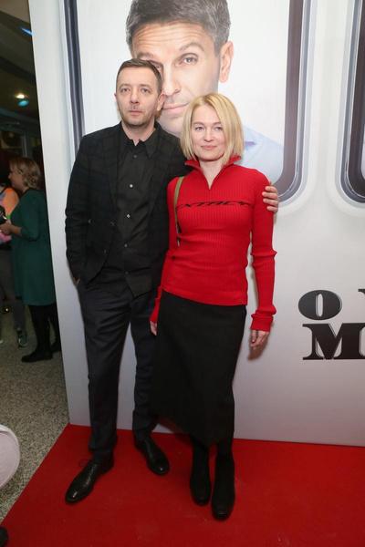 Алексей Агранович с супругой Викторией Толстогановой