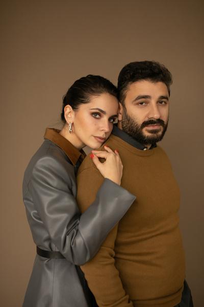 Сарик Андреасян и Лиза Моряк
