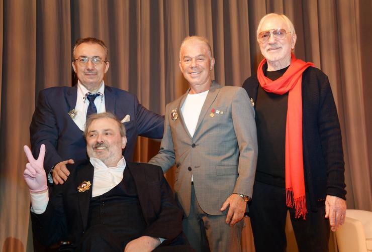 В октябре прошлого года художник-постановщик принял участие в одном из московских форумов.
