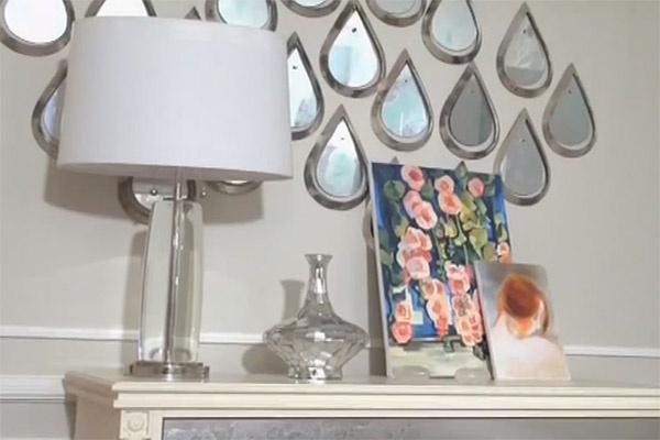 Настенное панно «Капли» создали мастера из Чувашии. Каждая капля индивидуальна – узор не повторяется