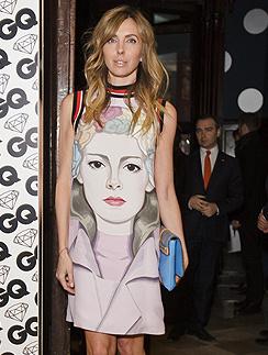 Светлана Бондарчук в платье Prada