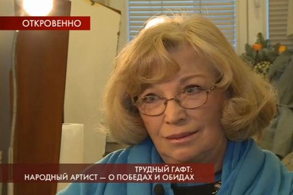 Остроумова и Гафт женаты с 1996 года