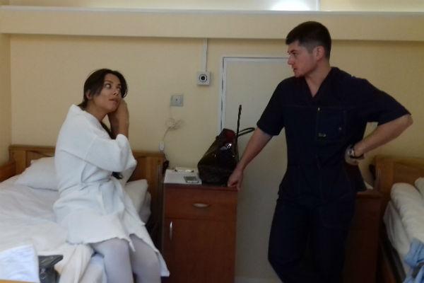 После операции девушка еще провела некоторое время в клинике, но вскоре ее выписали