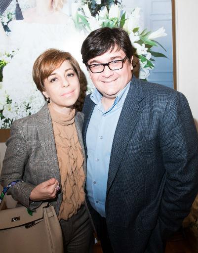 Марианна Максимовская с супругом Василием Борисовым