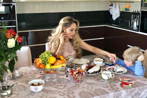 Анна Калашникова с Даней