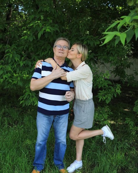 Дана Борисова с папой