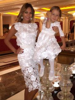 Инна Жиркова с дочкой Миланой