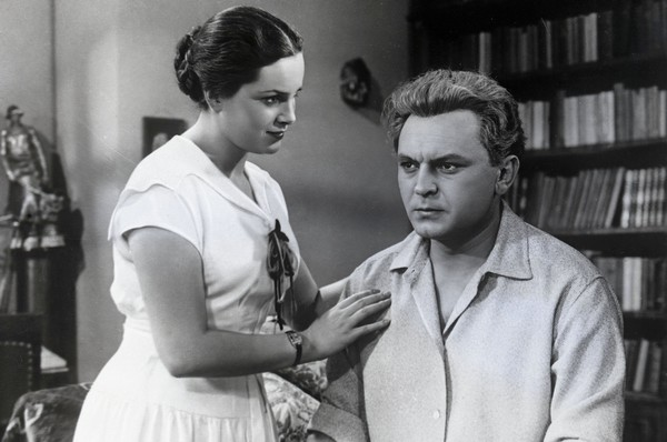 Элина Быстрицкая и Сергей Бондарчук