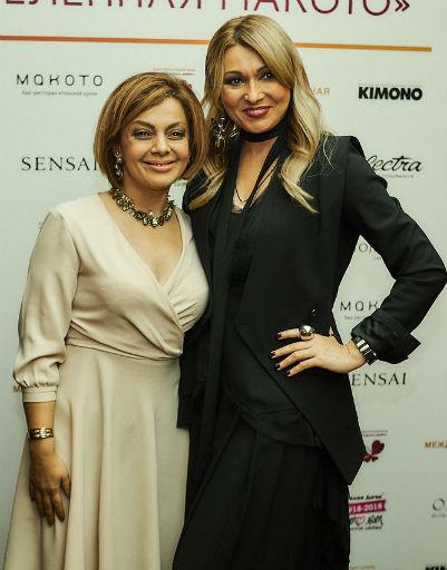 Анжелика Агурбаш с Анеттой Орловой
