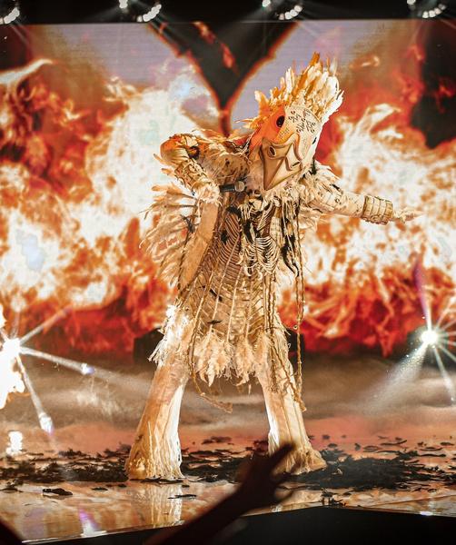 В финале номера сцену объяли языки пламени