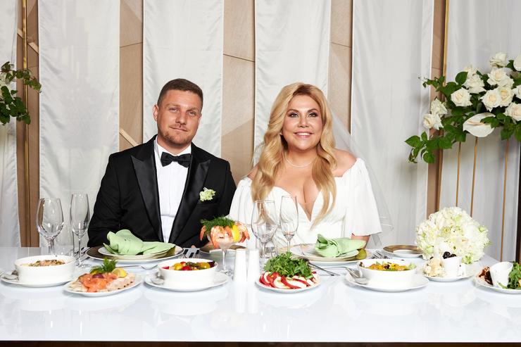 Марина Федункив и Стефано Магги