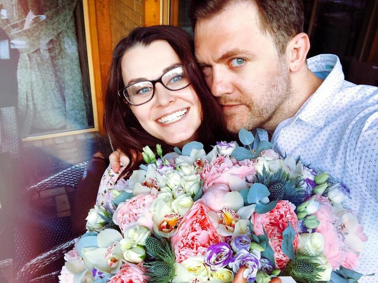 Александра Розовская и Денис Шведов