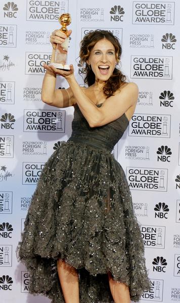 За свою работу в «Секс в большом городе» Сара Джессика Паркер четыре раз получала премию «Золотой глобус»