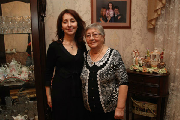 Сестра и мама Григория Лепса