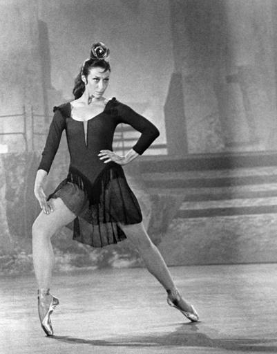 Кадр из фильма «Балерина», 1970 год