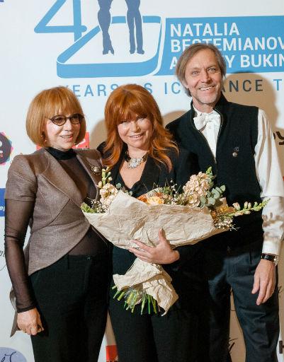 Кира Прошутинская, Наталья Бестемьянова и Андрей Букин