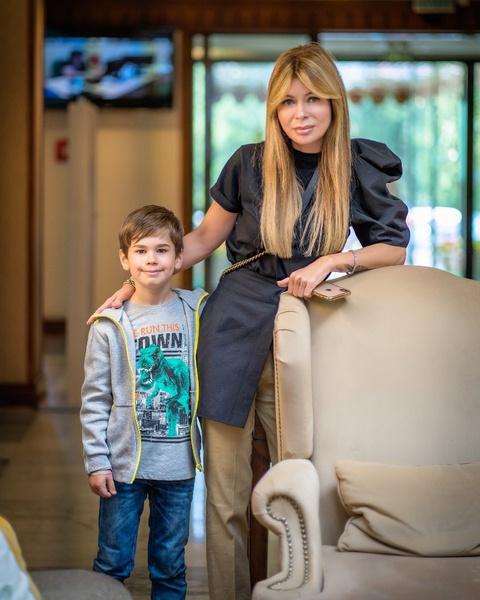 Ирина с младшим сыном