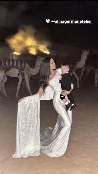 Анастасия Решетова встретила Новый год в ОАЭ