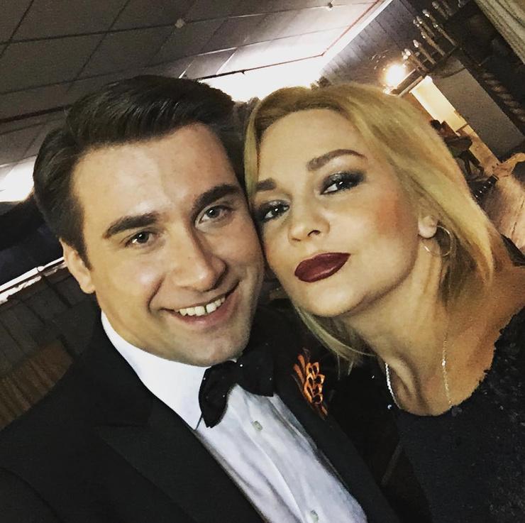 Артем Анчуков и Татьяна Буланова