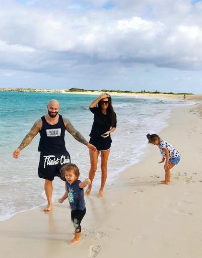 Джиган регулярно устраивает семье шикарные каникулы