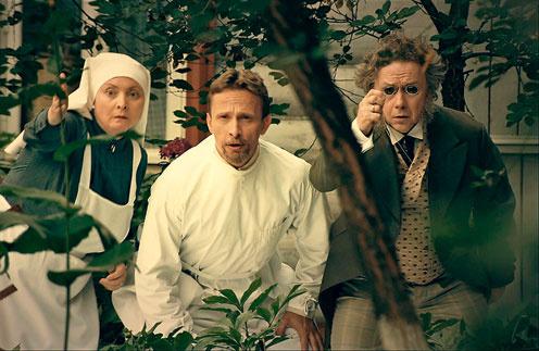 В первой серии нового сезона «Интернов» доктор Быков и его коллеги переместились в ХIХ век