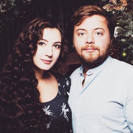 Иван Парфенов женился на Марии Бройтман в 2015 году