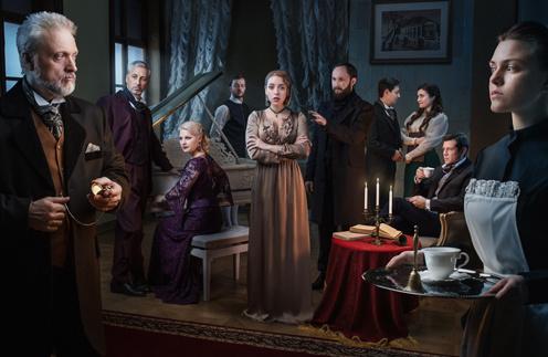 Стиль жизни: В Москве презентовали театральный сериал в иммерсивном формате «Дом 19|07» – фото №1