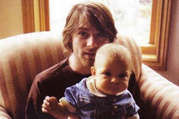 Лидер Nirvana ушел из жизни, когда его дочке Фрэнсис не было еще двух лет
