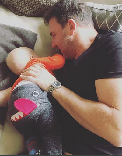 Максим Виторган тает от любви к сыну