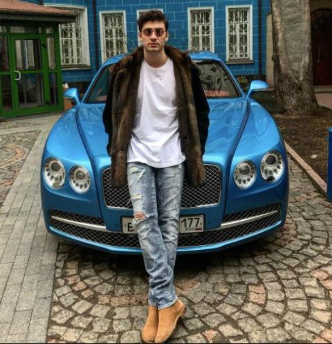 Сергей предпочитает дорогие машины