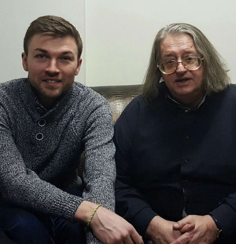 Стас Обухов и Александр Градский