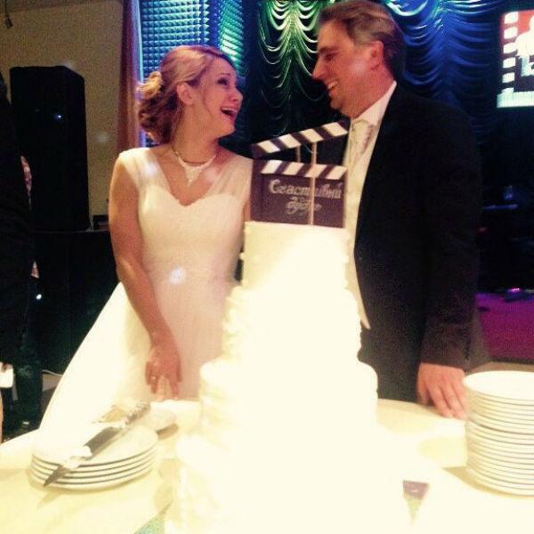 Недавно актриса вышла замуж