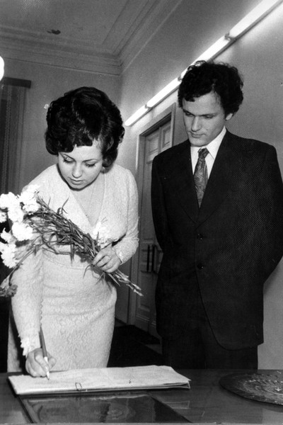 Николай и Вера поженились в 1974-м