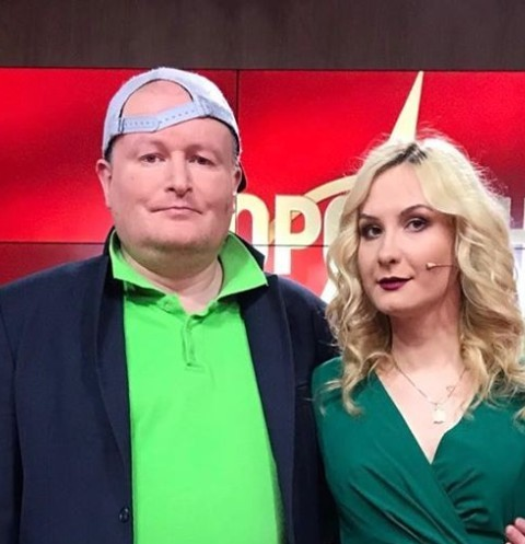 Николай Должанский вместе с Екатериной