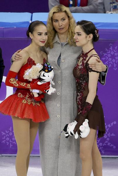 Когда-то Загитова и Медведева были лучшими подругами