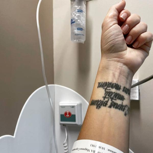 Артистка верит, что сможет справиться с болезнью