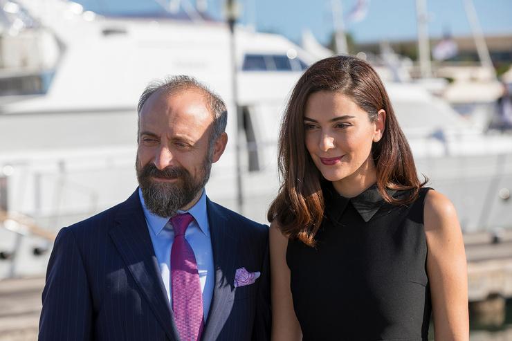 Халит Эргенч с женой