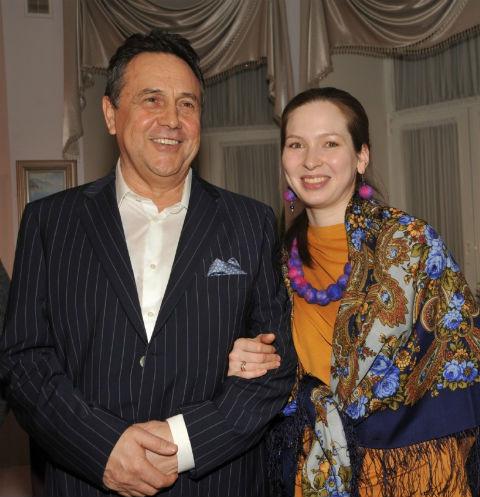 Ренат Ибрагимов с третьей супругой Светланой