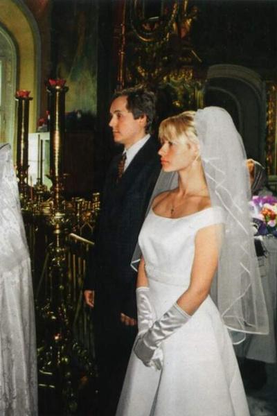 Андрей Алексеевич и Евгения поженились и обвенчались в церкви, но союз все равно распался через несколько месяцев