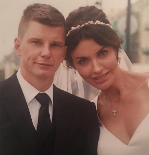 Андрей Аршавин с супругой Алисой