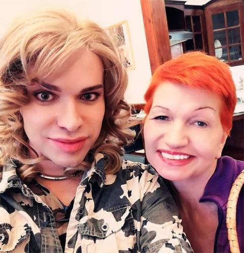 Гоген Солнцев и Екатерина Терешкович