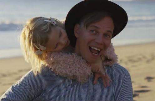 Илья Лагутенко с дочерью Летицией