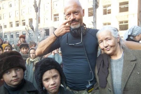 Баба Валя снялась в картине Федора Бондарчука