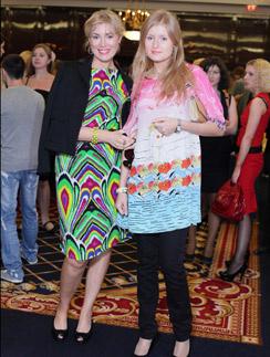 Мария Шукшина с дочкой Анной