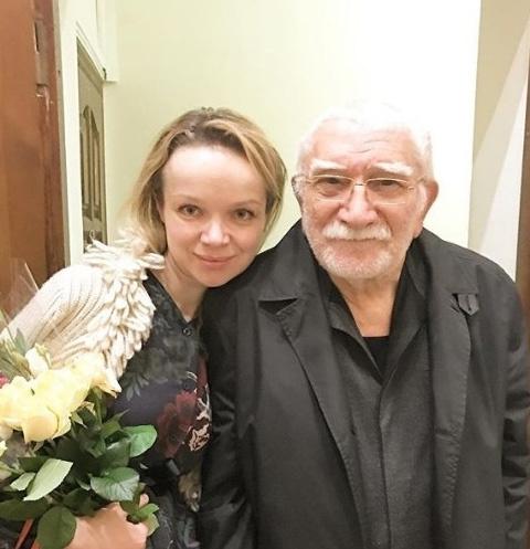 Виталина Цымбалюк-Родинская и Армен Джигарханян