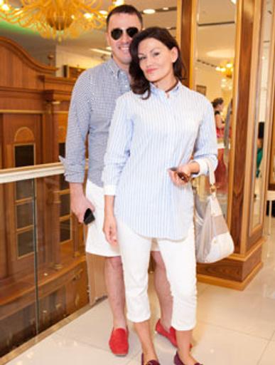 Кирилл Андреев и его жена Лола