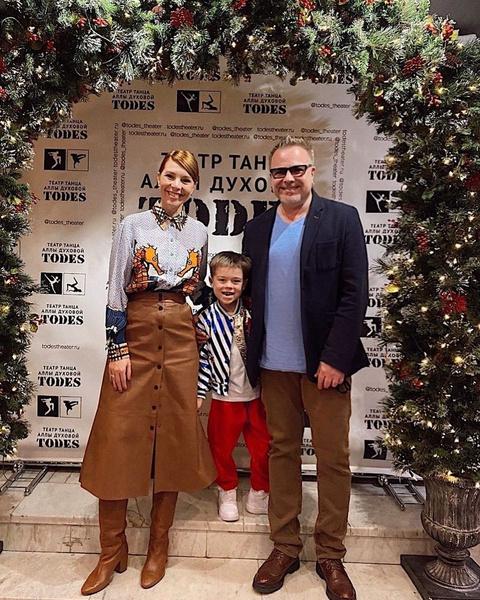 Недавно старший сын Натальи и Владимира впервые выступил на большой сцене