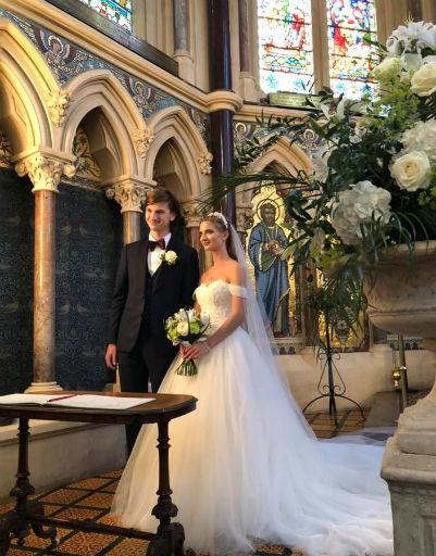 Церемония бракосочетания прошла в храме в Оксфорде